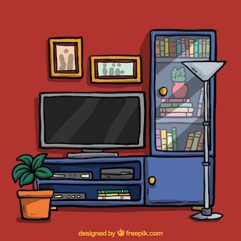 Wohnmöbel illustration