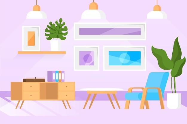 Wohnraum - hintergrund für videokonferenzen