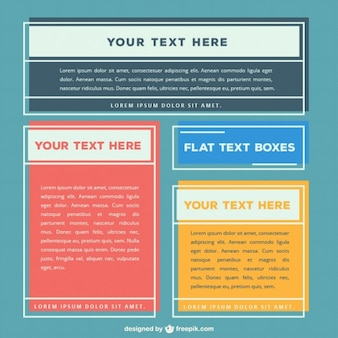 Wohnung textfelder sammlung