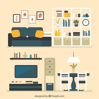 Wohnungsmöbel