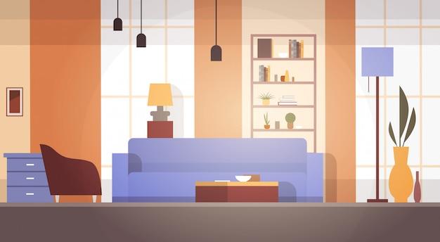 Wohnzimmer-innenausgangs-modernes wohnungs-design