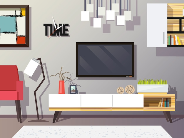 Wohnzimmer-konzept