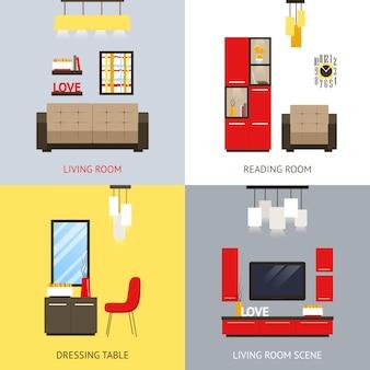 Wohnzimmer-set