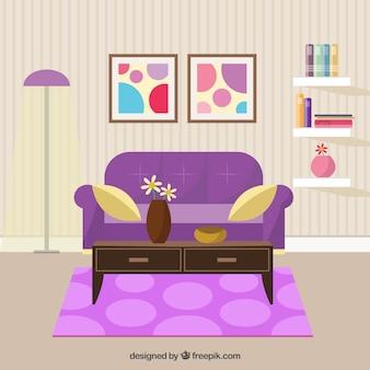 Wohnzimmerdekoration