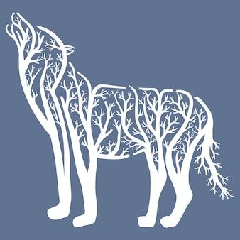 Wolf baum