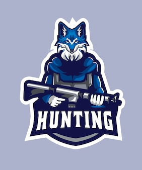 Wolf jagd esports logo
