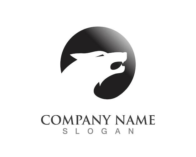 Wolf logo vorlage