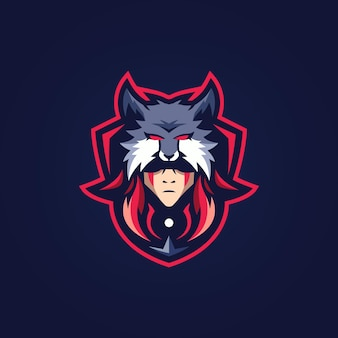 Wolfman maskottchen