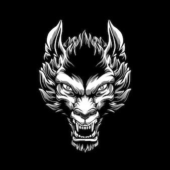 Wolfskopf-illustration