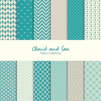 Wolke und meer