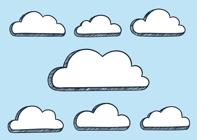 Wolken abbildung