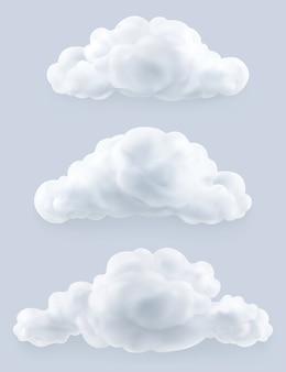 Wolken, gesetzt