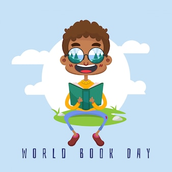 World book day hintergrund