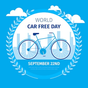 World car free day design
