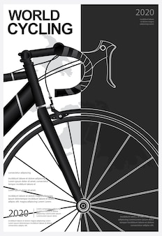 World cycling poster