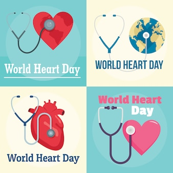 World heart day welt