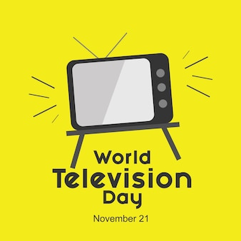 World television day logo