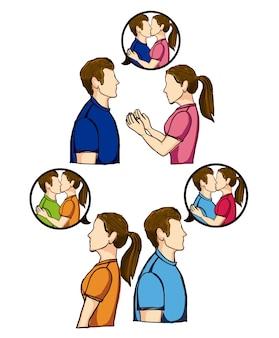 Wünsche deine küsse