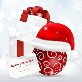 Wünschen sie frohe weihnachten weihnachtskonzept
