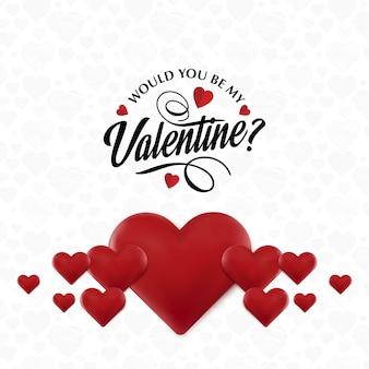 Würdest du meine valentinsgrüße sein?