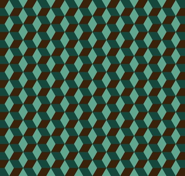 Würfelmuster. geometrischer einfacher hintergrund. kreative und elegante stilillustration