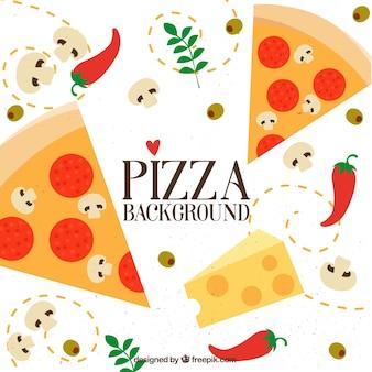 Würzige pizza