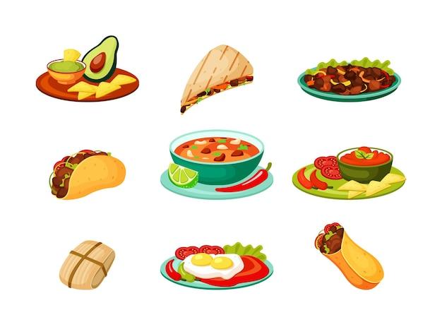 Würziger burrito aus frischer gemüsefleischküche
