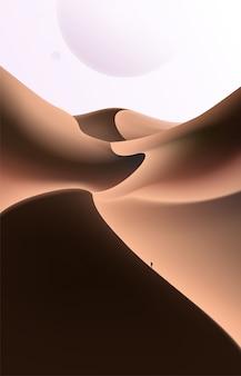 Wüstenszene art