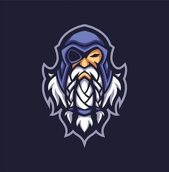 Wütender mann logo