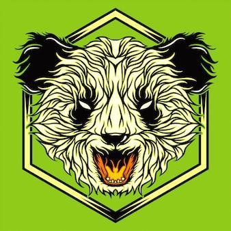 Wütender panda