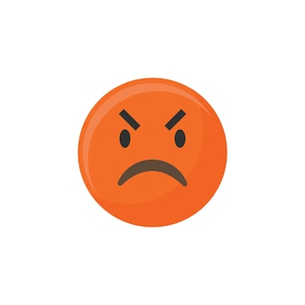 Wütendes emoji