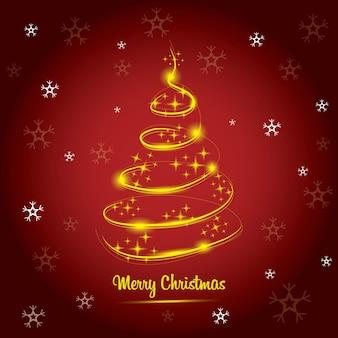 Wunderbare weihnachtskarte