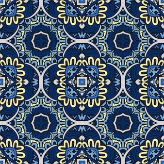 Wunderschönes nahtloses patchwork-muster
