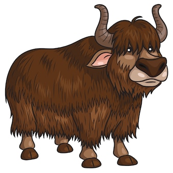 Yak-cartoon