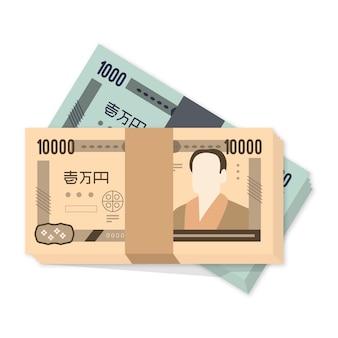 Yen banknoten