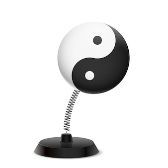 Yin yang andenken