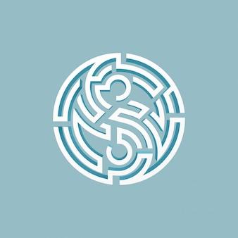 Yin yang labyrinth