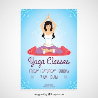 Yoga-kurse plakat