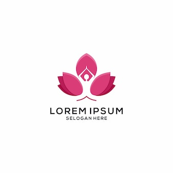 Yoga lotus-logo