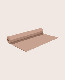 Yoga matte. vektor-illustration