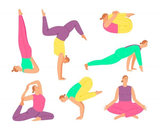 Yoga pose sammlung