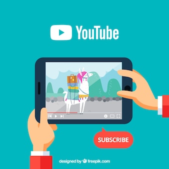 Youtube-konzept
