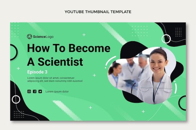 Youtube-miniaturansicht der flachen wissenschaft