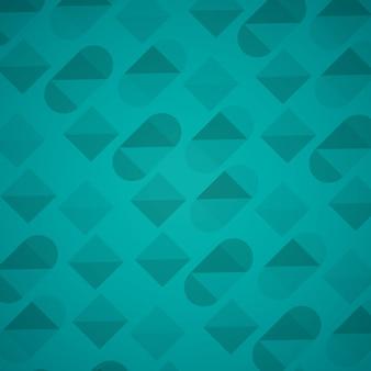 Zahlen geometrie und farben hintergrund