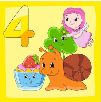 Zahlen lernen spiel für kinder farbaktivitätsseite