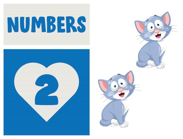 Zahlenreihe für kindererziehung