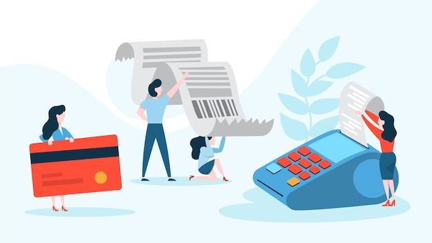 Zahlung über das elektronische nfc-gerät. drahtlose zahlung