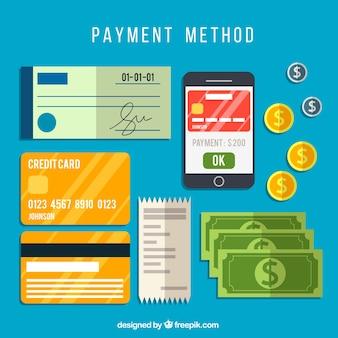 Zahlungsmethoden sammlung