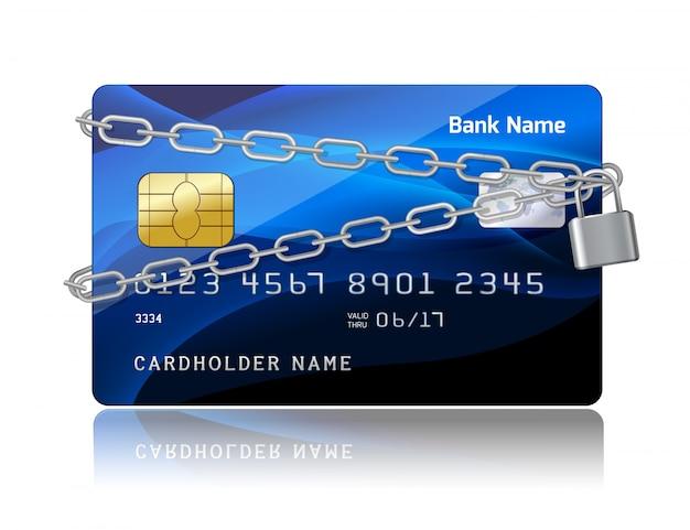 Zahlungssicherheit der kreditkarte mit chip