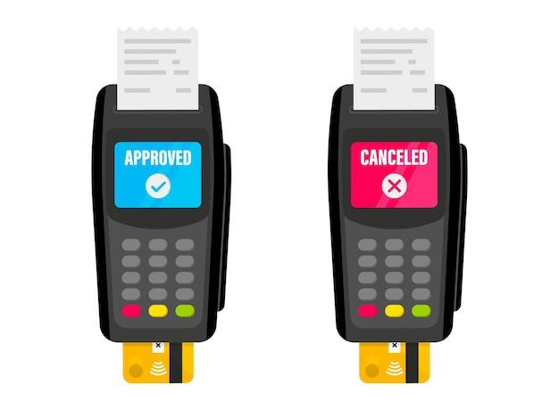 Zahlungsterminal pos terminal nfc-zahlungen zahlung per kreditkarte über pos-terminals